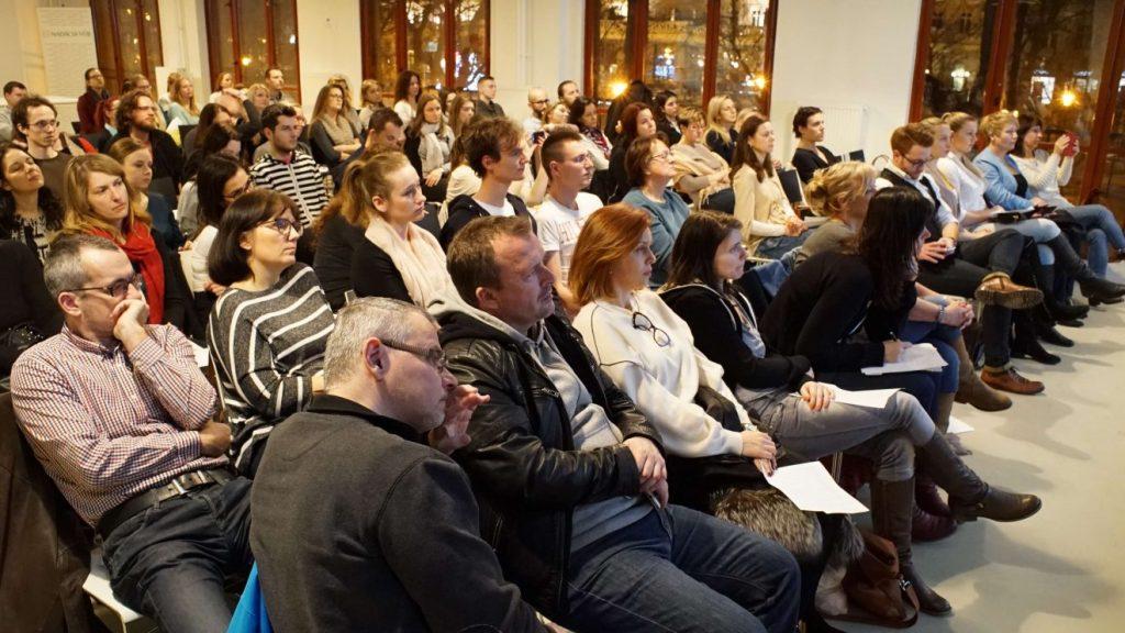 Prvá prednáška Psychológia šťastia v Impact Hub Bratislava prednášky o šťastí a spokojnosti