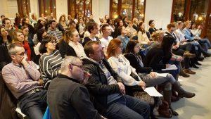Prvá prednáška Psychológia šťastia v Impact Hub Bratislava