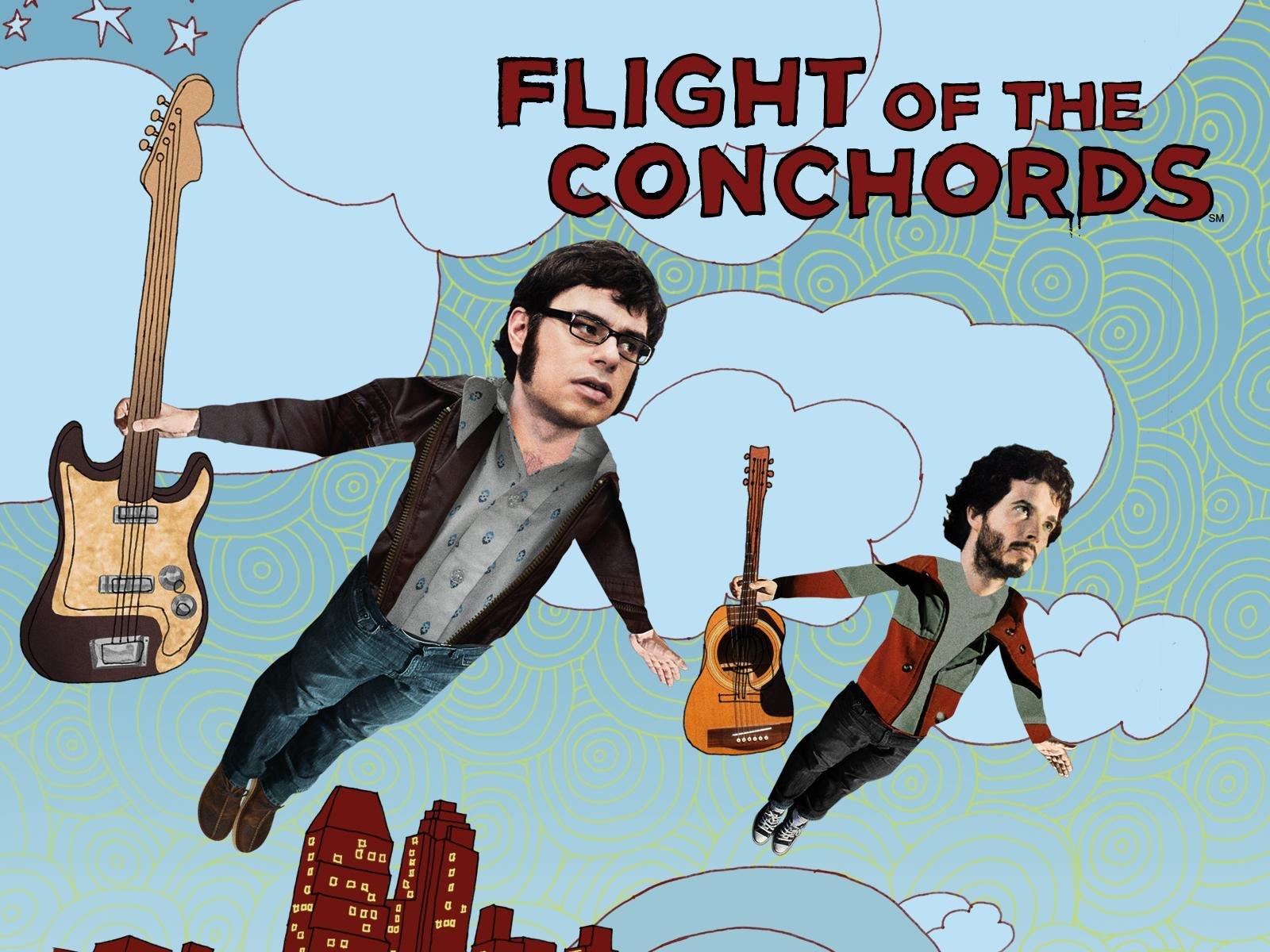 zažiť alebo zaznamenať flight of the conchords