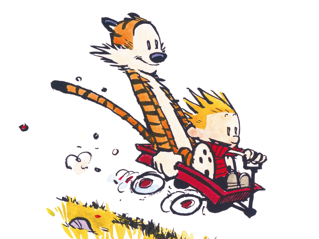 Calvin and Hobbes, autor Bill Watterson