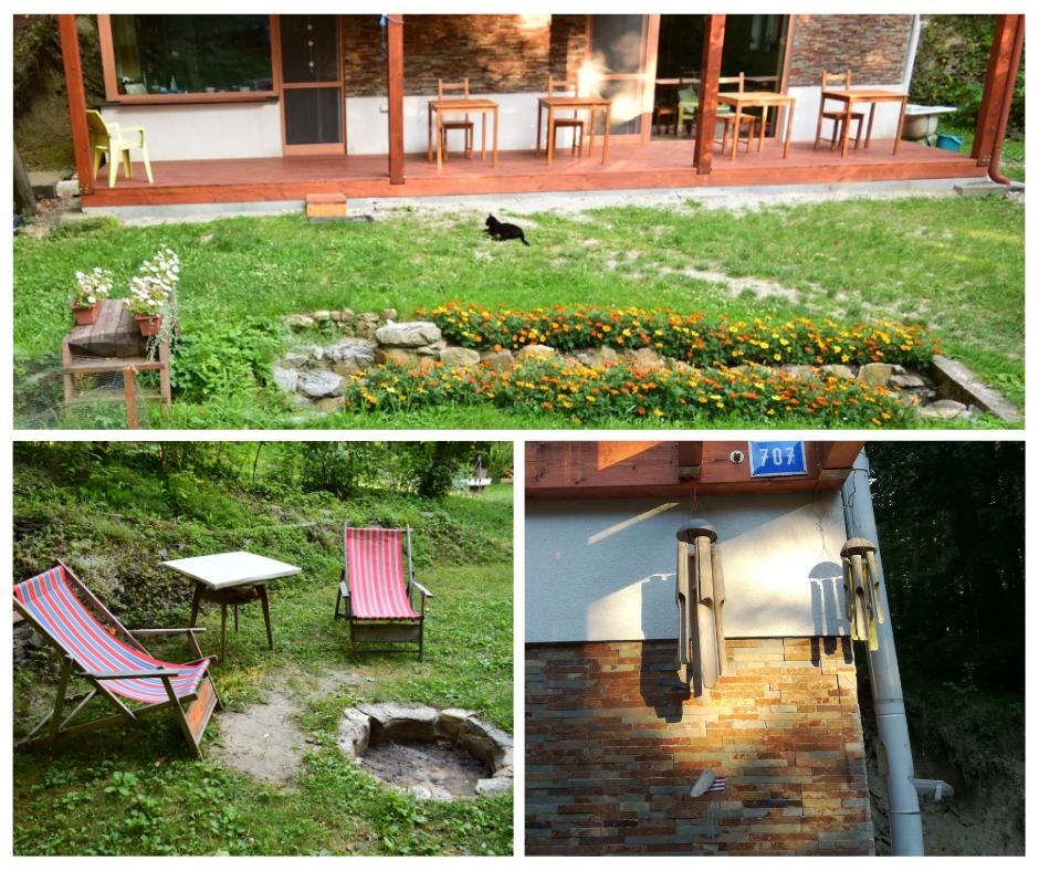 outdoor coworking LesHub Pezinok