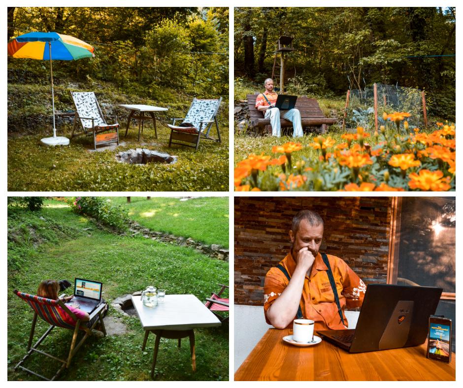 outdoor coworking LesHub