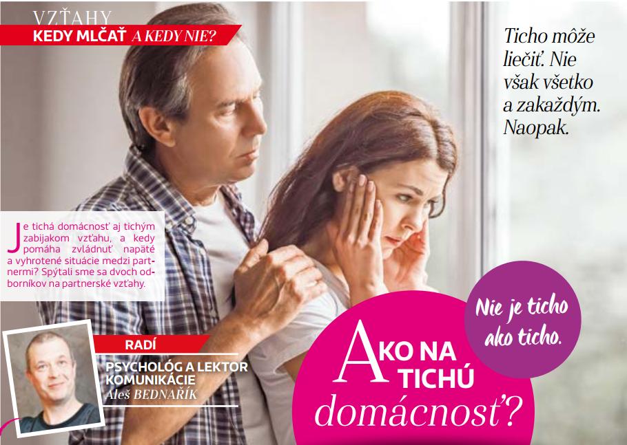 Ako na tichú domácnosť - Báječná žena september v médiách