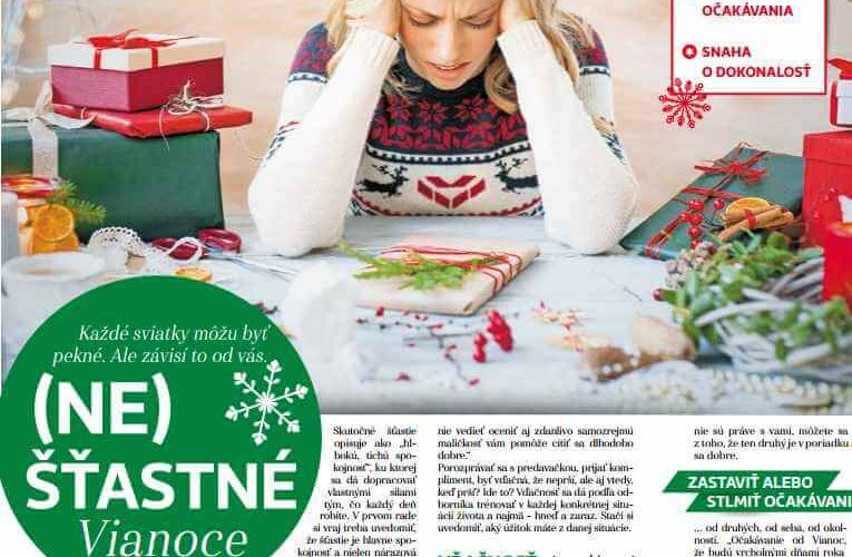 báječná žena vianoce v médiách